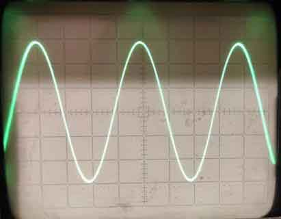 Синусоида, номинальная мощность, частота 1кГц