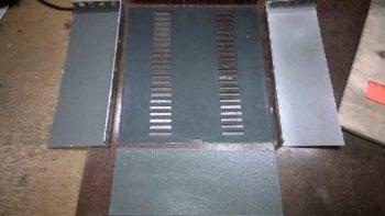 Верхняя и боковые панели корпуса