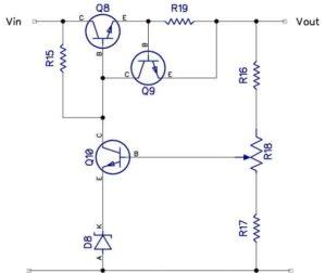 Стабилизатор с максимальной токовой защитой