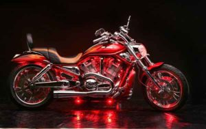 Ксеноновая подсветка мотоцикла Honda Valkyrie Rune