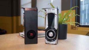 Общий вид видеокарты AMD