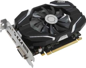 Графическая карта MSI GeForce GTX 1050 Ti 4G OC