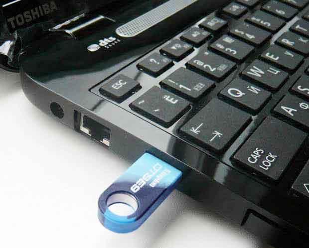 Восстановить данные с флешки
