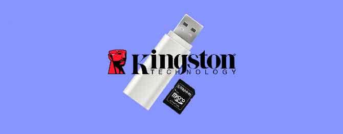 Восстановление флешки Kingston