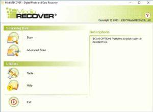 Программа MediaRECOVER 4.0