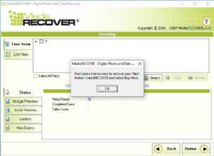 Программа MediaRECOVER 4.0-2