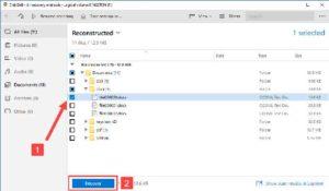 Восстановление файлов с помощью Disk Drill