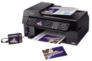 Замена картриджа в принтере-1